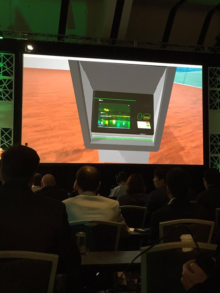 Finovate Day 2 - NCR demo